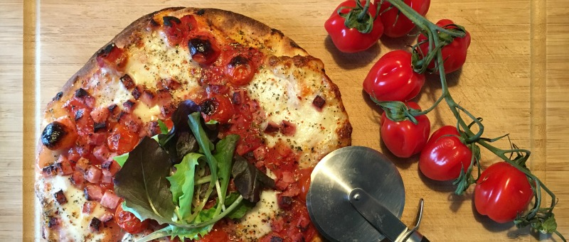 Pizza recept bloemkooldeeg Heidi Delaere