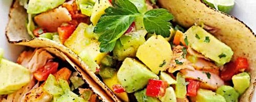 Heidi Delaere Diëtiste Vitaminerijke Wraps met Zalm