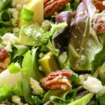 Heidi Delaere Salade Blauwe Kaas Peer Walnoten