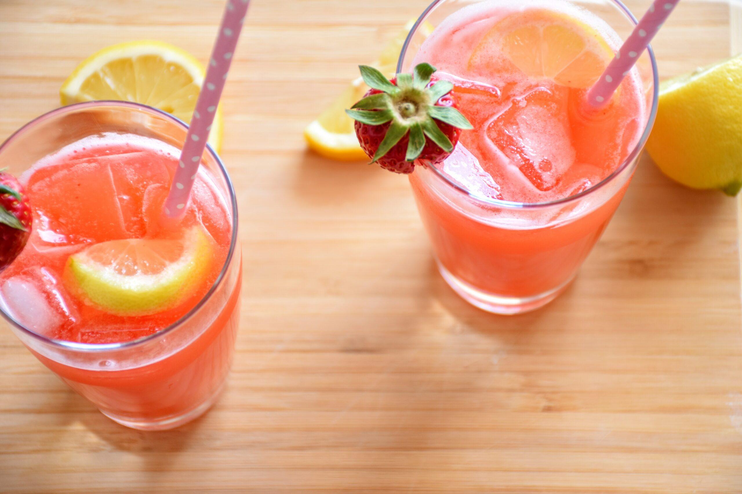 gezonde drankjes zomer terras